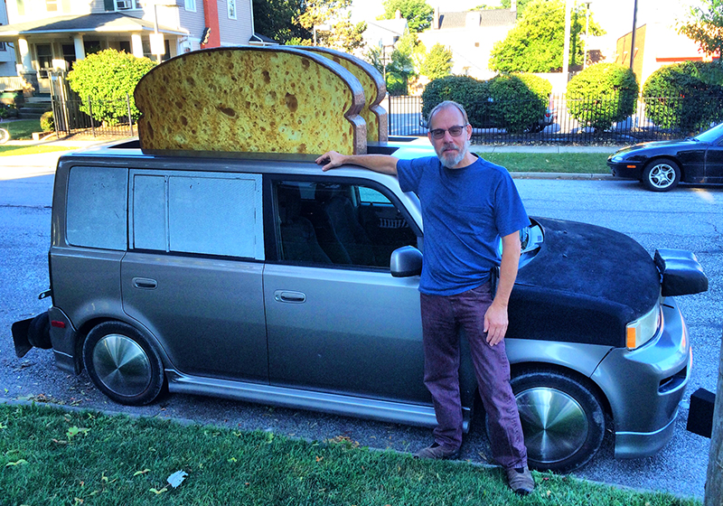 Many People Call The Scion A Toaster So It Became No Brainer On My Third Art Car Explained D B