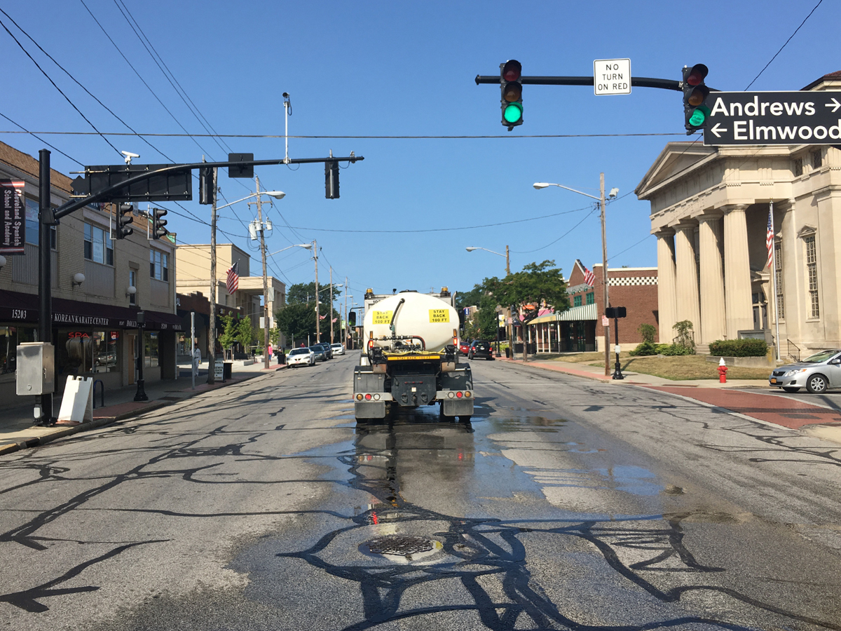 Lakewood Drivers Relax, Give City Crews Space - The