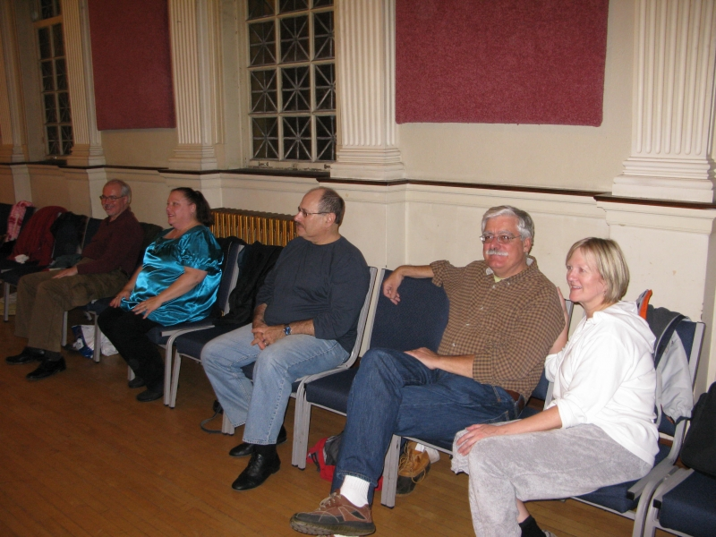 The Masonic Observer: October 2010 Contra Dance At Lakewood Masonic Temple